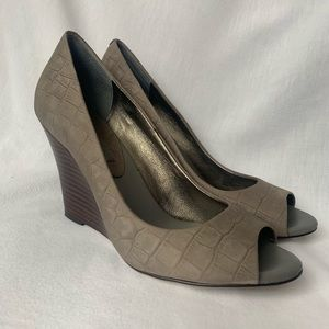 Banana Republic Shoes - Banana Republic Peep Toe Wedges